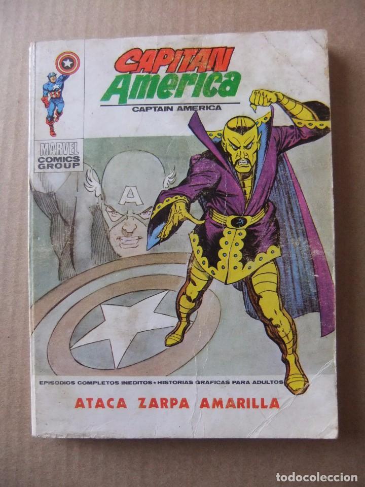 CAPITAN AMERICA Nº 33 ATACA ZARPA AMARILLA VERTICE TACO (Tebeos y Comics - Vértice - Capitán América)