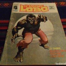 Cómics: VÉRTICE VOL. 2 EL HOMBRE LOBO Nº 1. WEREWOLF. 1974. LA TRAMPA. MUY DIFÍCIL.. Lote 97210003