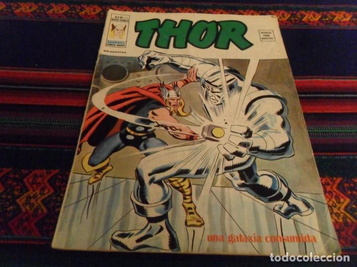 VÉRTICE VOL. 2 THOR Nº 13. 35 PTS. 1975. UNA GALAXIA CONSUMIDA. BUEN ESTADO. (Tebeos y Comics - Vértice - Thor)