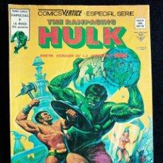 Cómics: THE RAMPAGING HULK - ESPECIAL 6 - ¡Y TODO EL MAR SON MONSTRUOS! - AÑO 1979 - MUNDI COMICS ED VERTICE. Lote 97328207