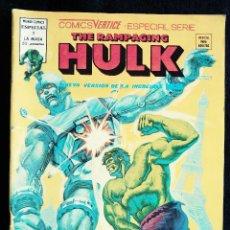 Cómics: THE RAMPAGING HULK - ESPECIAL 2 - ¡Y DESPUES LA PATRULLA X! - AÑO 1978 - MUNDI COMICS ED VERTICE. Lote 97329143