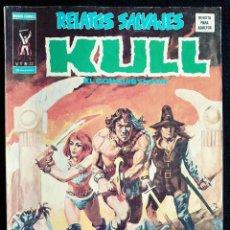 Cómics: RELATOS SALVAJES - KULL EL CONQUISTADOR - V1 - N 22 - AÑO 1975 - ED. VERTICE. Lote 97330627