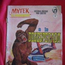 Cómics: MYTEK EL PODEROSO Nº 7. ¡A LA DESESPERADA! ED. VERTICE, 1965. GRAPA. TEBENI. Lote 97501535