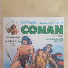Cómics: CONAN ANUAL 80 , EN COLOR. Lote 97564131