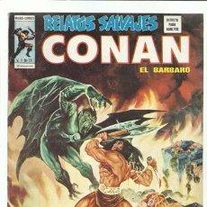 Comics : RELATOS SALVAJES 25: CONAN, 1975, VERTICE, MUY BUEN ESTADO. Lote 97577443