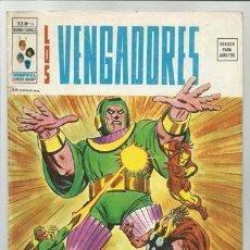 Fumetti: LOS VENGADORES V2 Nº 10, 1975, VERTICE, BUEN ESTADO. Lote 97580783