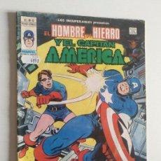 Cómics: LOS INSUPERABLES VOL 1 Nº 15 (CAPITAN AMERICA Y HOMBRE DE HIERRO) VERTICE MUNDI-COMICS. Lote 97672835
