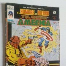 Cómics: LOS INSUPERABLES VOL 1 Nº 17 (CAPITAN AMERICA Y HOMBRE DE HIERRO) VERTICE MUNDI-COMICS. Lote 97674231