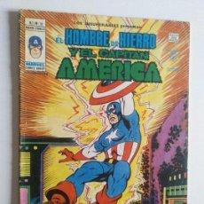 Cómics: LOS INSUPERABLES VOL 1 Nº 18 (CAPITAN AMERICA Y HOMBRE DE HIERRO) VERTICE MUNDI-COMICS. Lote 97674779