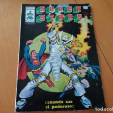 Cómics: SUPER STARS. VÉRTICE. VOL 1. N° 3. CUANDO CAE EL PODEROSO.. Lote 97700859