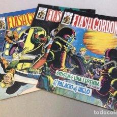 Cómics: LOTE FLASH GORDON - VERTICE - 1981 (3 CÓMICS). Lote 97722915
