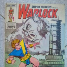 Cómics: SUPER HEROES 5 VERTICE WARLOCK PASA EL DEMONIO TRAX. Lote 97841111