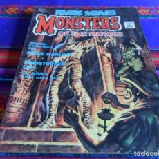Cómics: VÉRTICE VOL. 1 RELATOS SALVAJES Nº 20 MONSTERS OF THE MOVIES. LA MOMIA. 50 PTS. 1975. RARO.. Lote 97913007