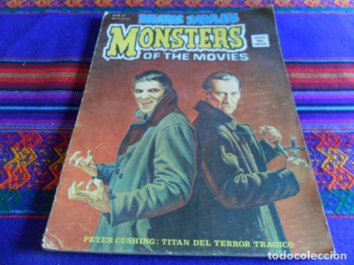 VÉRTICE VOL. 1 RELATOS SALVAJES Nº 26 MONSTERS OF THE MOVIES. DRACULA. 50 PTS. 1975. RARO. (Tebeos y Comics - Vértice - Relatos Salvajes)