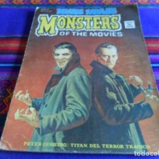 Cómics: VÉRTICE VOL. 1 RELATOS SALVAJES Nº 26 MONSTERS OF THE MOVIES. DRACULA. 50 PTS. 1975. RARO.. Lote 97913647