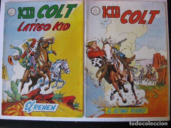 Cómics: LOTE 5 NUMEROS DE KID COLT - VERTICE, MUNDI COMICS - - Foto 2 - 97989375