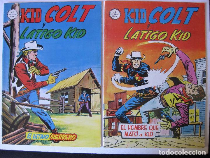 Cómics: LOTE 5 NUMEROS DE KID COLT - VERTICE, MUNDI COMICS - - Foto 3 - 97989375