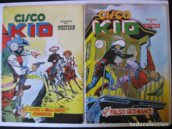 LOTE 4 NUMEROS DE CISCO KID - VERTICE, MUNDI COMICS - (Tebeos y Comics - Vértice - Surco / Mundi-Comic)