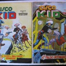 Cómics: LOTE 4 NUMEROS DE CISCO KID - VERTICE, MUNDI COMICS -. Lote 97989563