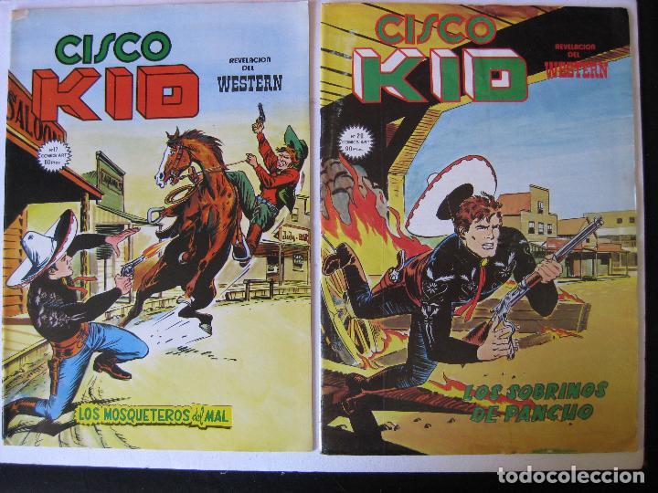 Cómics: LOTE 4 NUMEROS DE CISCO KID - VERTICE, MUNDI COMICS - - Foto 2 - 97989563