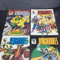Cómics: LOS VENGADORES MUNDICOMICS Nº 1 AL 4 -ED. EDICIONES VERTICE. Lote 213916998