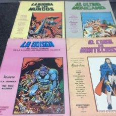 Cómics: MUNDI COMICS CLASICOS , LOTE DE 4 EJEMPLARES - VER EN FOTOS ADICIONALES. Lote 31806244
