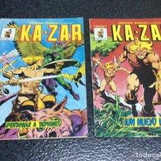 Cómics: HEROES MARVEL KAZAR Nº 2 Y 3 - EDITA : EDICIONES SURCO. Lote 98035443