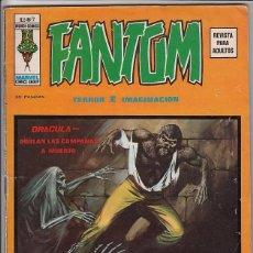 Cómics: FANTOM VOL.2 # 7 (VERTICE,1974) - TUMBA DE DRACULA - GENE COLAN. Lote 98472855