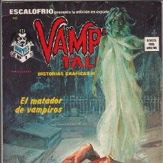 Cómics: ESCALOFRIO VOL.1 # 35 (VERTICE,1975) - VAMPIRE TALES. Lote 98478515