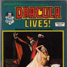 Cómics: ESCALOFRIO VOL.1 # 7 (VERTICE,1974) - DRACULA LIVES. Lote 98479327