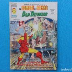 Cómics: HEROES MARVEL Nº 26. EL HOMBRE DE HIERRO Y DAN DEFENSOR. C-20. Lote 98562055