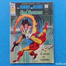 Cómics: HEROES MARVEL Nº 39. EL HOMBRE DE HIERRO Y DAN DEFENSOR. VERTICE. C-20. Lote 98562895