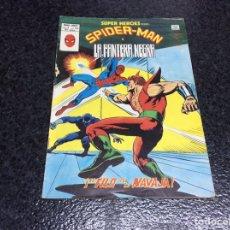 Cómics: SUPER HEROES VOL 2 Nº 123 SPIDERMAN Y LA PANTERA NEGRA ( VERTICE ). Lote 16114119