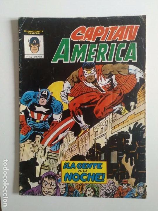 CAPITAN AMERICA Nº 5 MUNDI-COMICS (Tebeos y Comics - Vértice - Super Héroes)