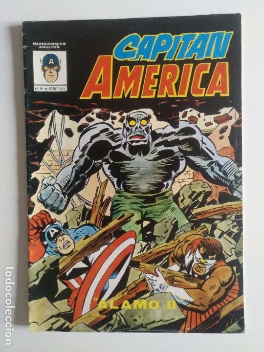 CAPITAN AMERICA Nº 6 VERTICE - SURCO - MUNDI-COMICS (Tebeos y Comics - Vértice - Super Héroes)