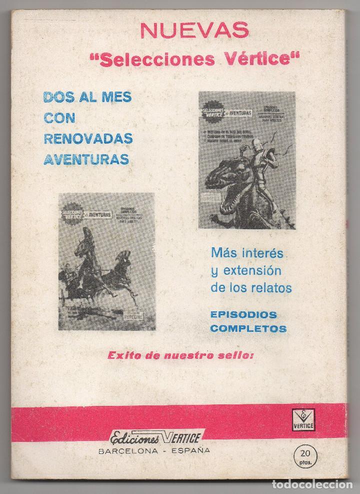 Cómics: ZARPA DE ACERO nº 5 (Vertice 1ª edicion 1966) - Foto 3 - 98962455