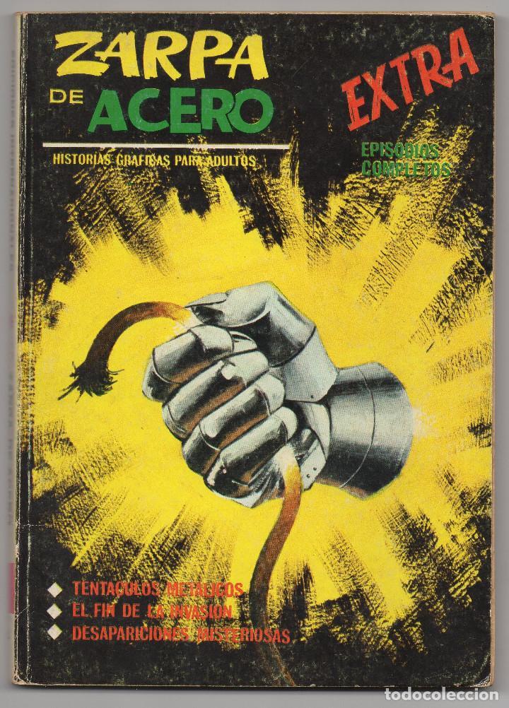 ZARPA DE ACERO Nº 4 (VERTICE 1ª EDICION 1966) (Tebeos y Comics - Vértice - Fleetway)
