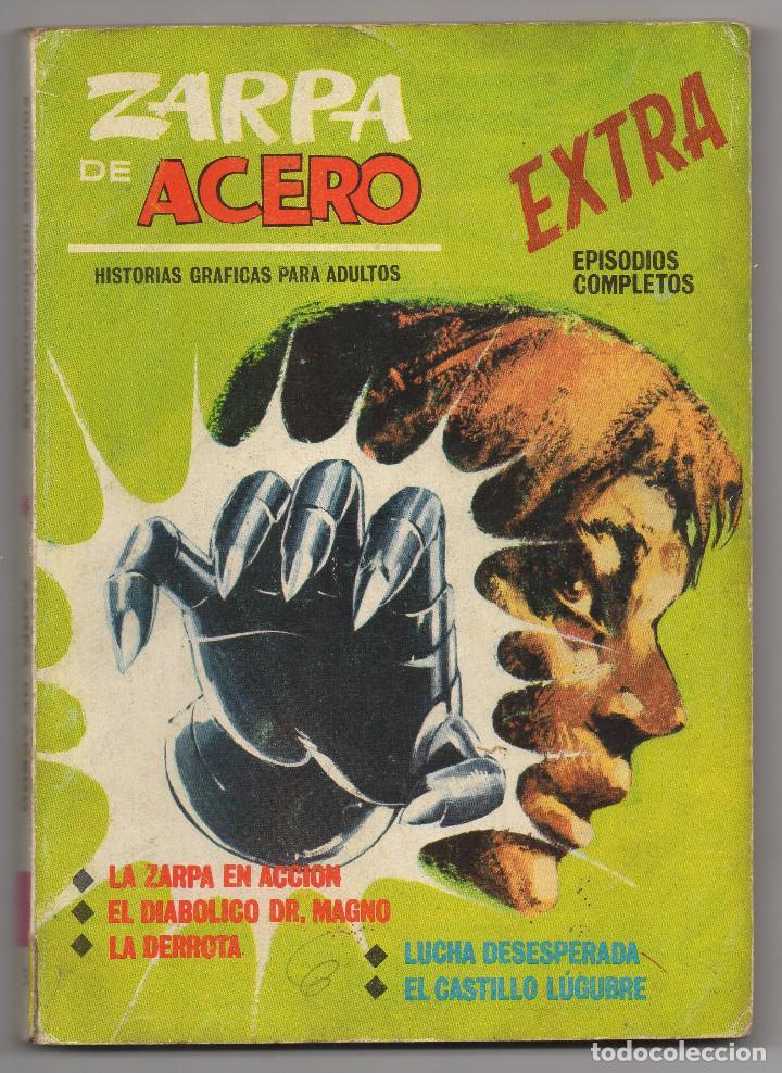 ZARPA DE ACERO Nº 3 (VERTICE 1ª EDICION 1.966) 160 PAGINAS. (Tebeos y Comics - Vértice - Fleetway)