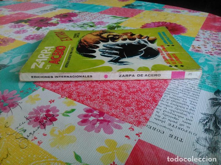 Cómics: ZARPA DE ACERO nº 3 (Vertice 1ª edicion 1.966) 160 paginas. - Foto 3 - 98962863