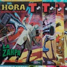 Cómics: ZARPA DE ACERO LOTE - HORA T Nº 2, 4 ,6, 8, 10 Y 12 Y SURCO Nº 7 (VERTICE 1975/83) 7 TEBEOS.. Lote 98964935