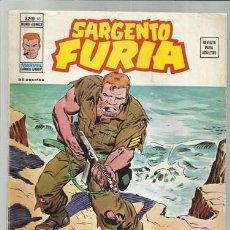 Cómics: SARGENTO FURIA VOL. 2 Nº 16, 1975, VERTICE. Lote 99050099