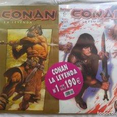Cómics: CONAN LA LEYENDA Nº 1 Y 2 - VAN EN BLISTER NUEVO. Lote 99154991