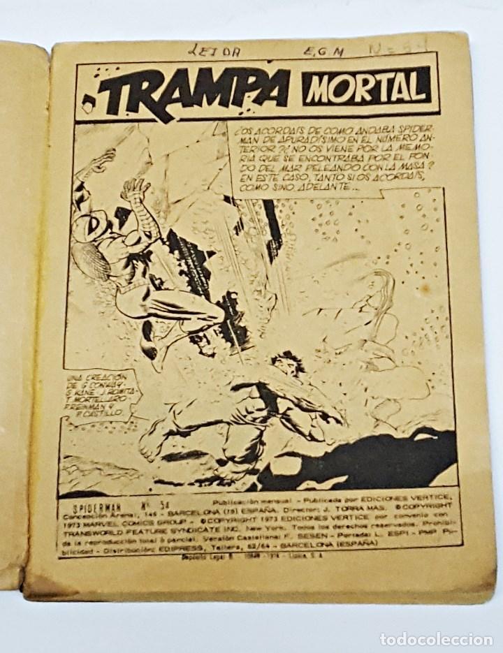 Cómics: Comics SPIDERMAN.Numero 54 Marvel comics group , Ediciones Vertice - Foto 3 - 173094954