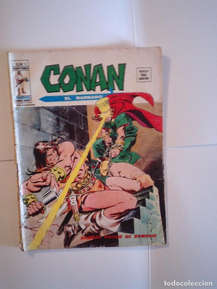 CONAN EL BARBARO - VERTICE - VOLUMEN 2 - NUMERO 10- CJ 50 - GORBAUD (Tebeos y Comics - Vértice - Conan)