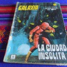 Cómics: VÉRTICE GRAPA GALAXIA Nº 16. 1966. 10 PTS. LA CIUDAD INSÓLITA.. Lote 99959051