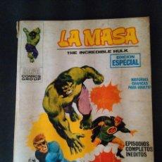 Cómics: LA MASA THE INCREDIBLE HULK. LOS ANILLOS DEL MANDARIN. EDICIONES VERTICE AÑO 1970. MUM.3. Lote 99967455