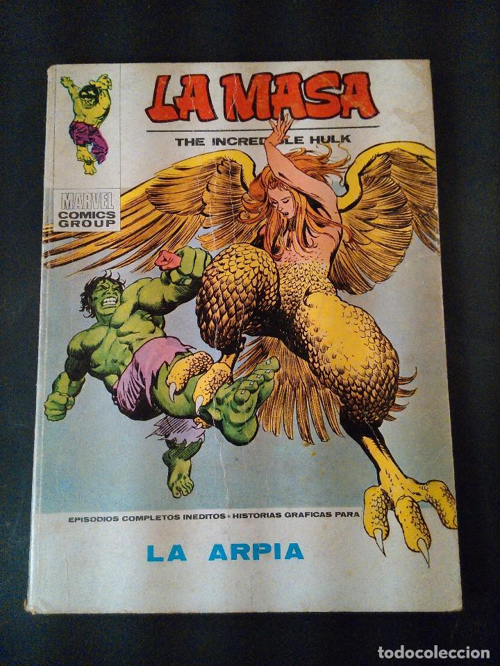 LA MASA. LA ARPIA. EDICIONES VERTICE AÑO 1973. MUM.33. (Tebeos y Comics - Vértice - La Masa)