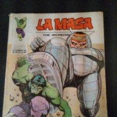 Cómics: LA MASA. ¡DESTRUCCIÓN! ¡DESTRUCCIÓN!. EDICIONES VERTICE AÑO 1973. MUM.32.. Lote 178763050