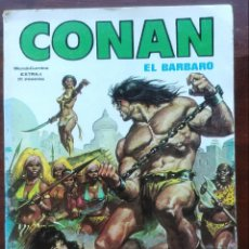 Cómics: CONAN EXTRA 1 VERTICE SURCO COMPLETA DE CONAN EL BUCANERO. Lote 100038947