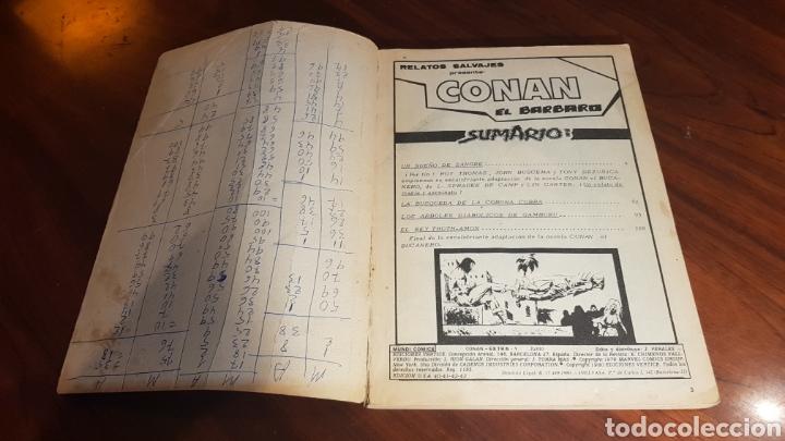 Cómics: TOMO CONAN EXTRA 1 EL BUCANERO VERTICE - Foto 2 - 100162262
